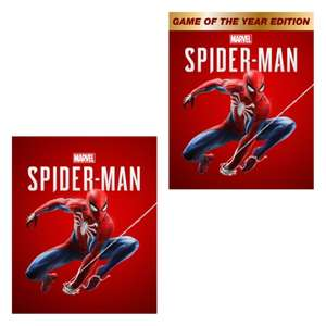 [PS4] Marvel's Spider-Man - £15.99 / Game Of The Year Edition - £24.99 @ PlayStation Store
