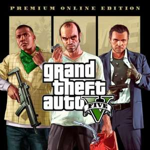 Grand Theft Auto V Premium Online edition PS4 £7.99 at Playstation PSN