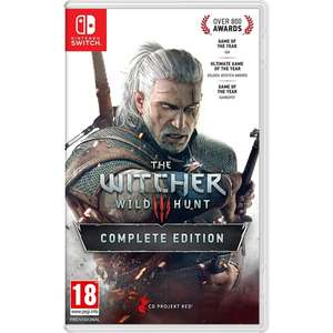 The Witcher 3: Wild Hunt Complete Edition Nintendo Switch - £34.99 delivered @ Smyths