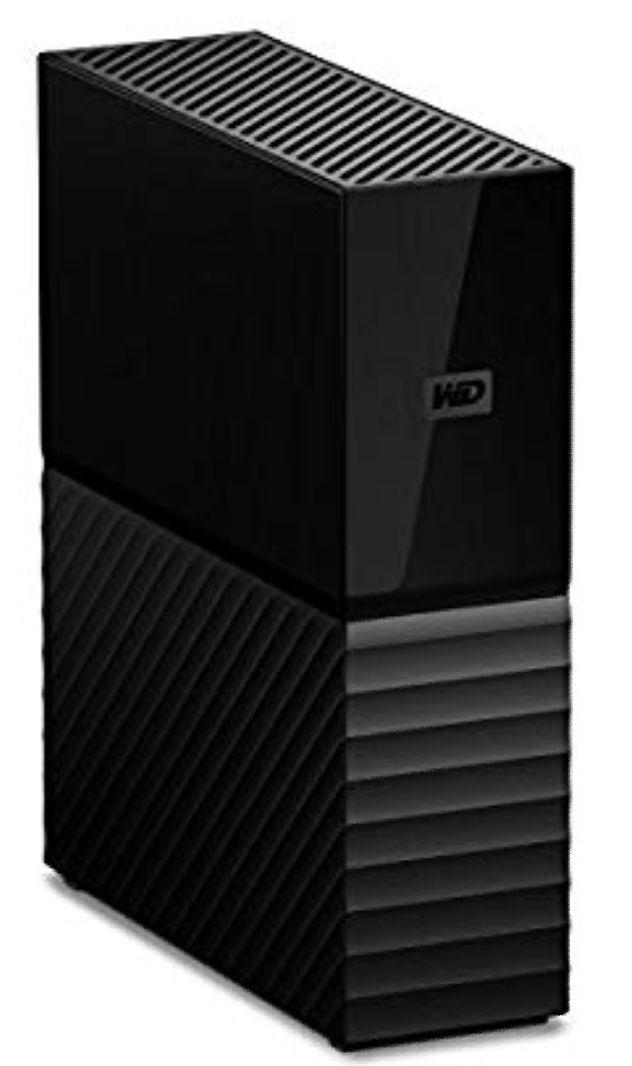 Western Digital My Book 8 TB Desktop Hard Drive - Black £112.99 at Amazon