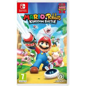 Mario + Rabbids Kingdom Battle Nintendo Switch £16.99 @ Smyths Toys