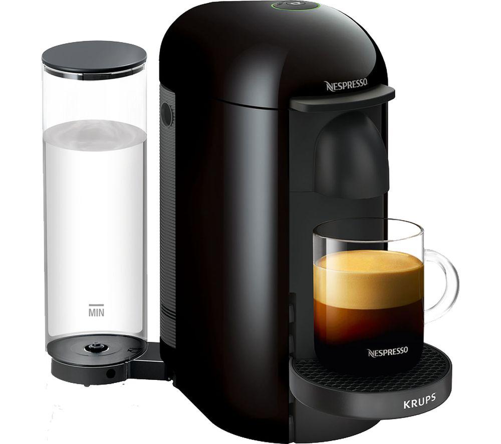 NESPRESSO by Krups Vertuo Plus XN903840 Coffee Machine - Black - £75 @ Currys PC World