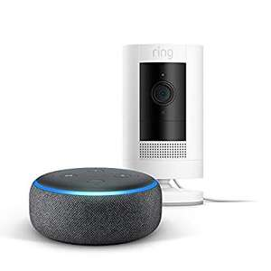 All-new Ring Stick Up Cam *Plug-In & echo dot 3rd gen £89 @ amazon