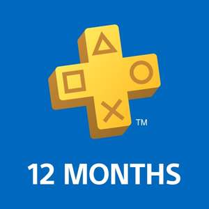 PlayStation Plus 12 Month Membership £37.49 / £31.34 with PSN Credit @ Playstation Store (All members)