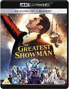 The Greatest Showman 4K UHD + Blu-ray £10.78 delivered with prime / £13.77 Non-prime @ Amazon