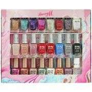 Barry M Nail Paint Gift Set (30 bottles) now half price at Argos £29.99 free click and collect
