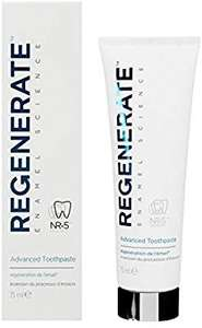 Regenerate Advanced Toothpaste 75ml down from £10 to £5.53 delivered with Amazon prime