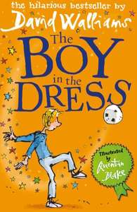 The Boy in the Dress Kindle Edition by David Walliams, Amazon Deal of the Day 99p