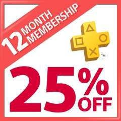 PlayStation Plus 12 Month Membership £22.97 from PSN Store Indonesia