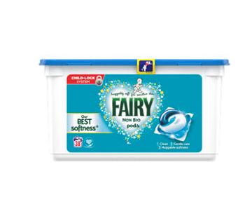 Fairy Non Bio Pods Washing Liquid Capsules 38 Washes at Asda for £5.75