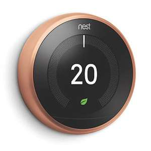 Nest Thermostat (Copper version) at Screwfix for £149.99