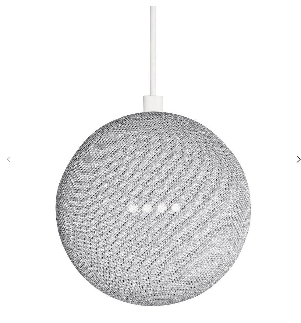 Google Home Mini Hands-Free Smart Speaker, Chalk £19 + £2 C&C @ John Lewis & Partners with 2 year warranty.