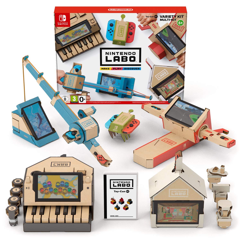 Nintendo Labo: Variety Kit - Amazon £.9.99 Prime + £4.49 non prime