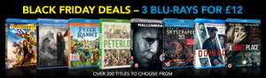 3 x Blu-rays for £12 @ Zoom (lots of titles inc. 3D)