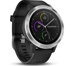 GARMIN vivoactive 3 - Black & Stainless Steel £139 @ Currys