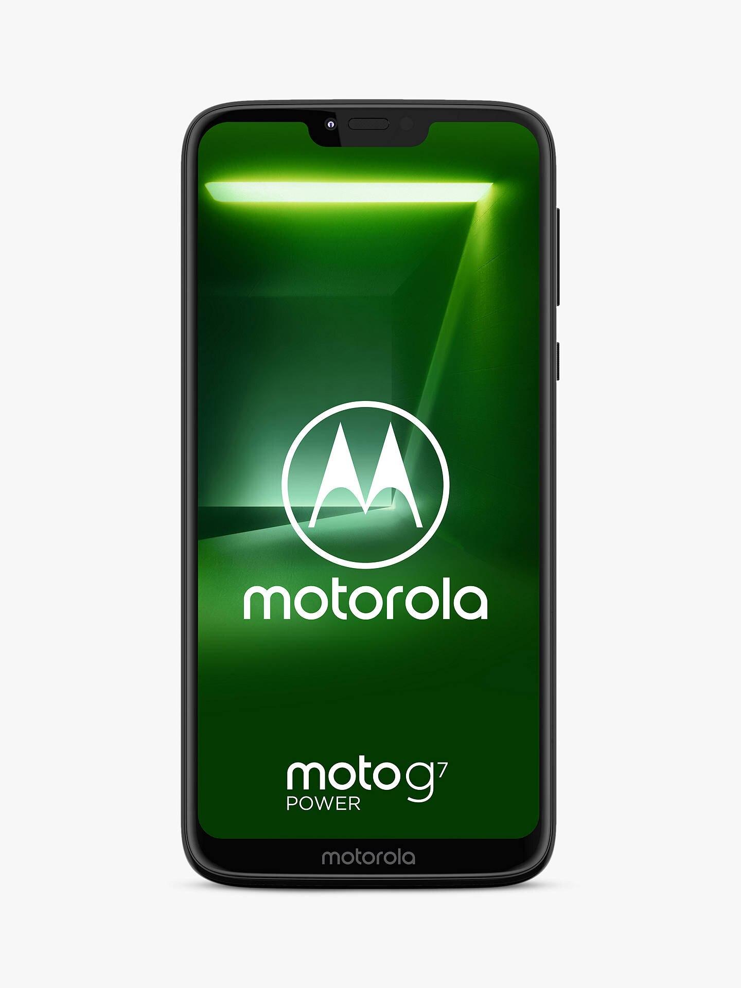 Motorola G7 Power SIM Free £139 @ John Lewis