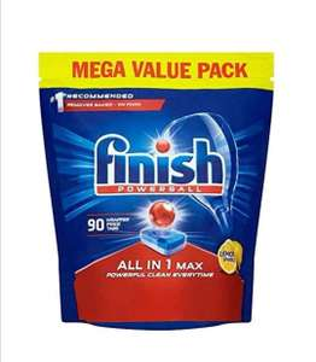 90 Finish Powerball Dishwasher Tablets £8.99 Prime / +£4.49 non Prime @ Amazon (£7.65 S&S)