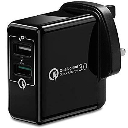 Spigen Fast USB Charger Qualcomm Quick Charge 3.0 £6.99 (Prime) @ amazon.co.uk