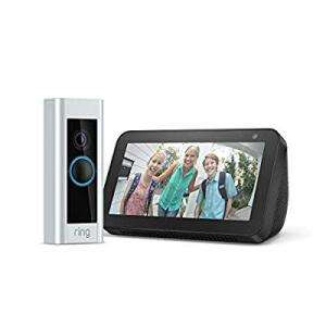 Ring Pro Video Doorbell Kit with Chime and get a free Amazon Echo Show 5 at Argos for £149