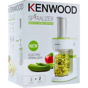 KENWOOD White & Green Electric Spiralizer £9.99 +£1.99 click and collect @ Tk Maxx