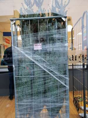Real 6ft Christmas trees £9.99 @ Home Bargains Waterloo Liverpool