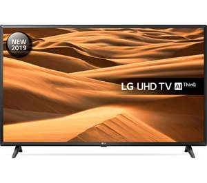 "LG 43UM7000PLA 43"" Smart 4K Ultra HD HDR LED TV at Currys for £299"