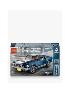 20% off Mustang Lego Creator - £95.99 delivered @ John Lewis