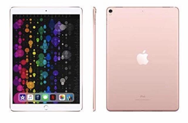 Apple iPad Pro 2017 Model/2nd Gen (10.5-inch, Wi-Fi, 64 GB) - Rose Gold £399 Amazon Prime Members