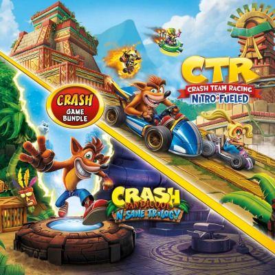 [PS4] Crash Bandicoot Bundle - N Sane Trilogy & Crash Team Racing - £32.99 @ PlayStation Store