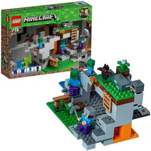 LEGO 21141 Minecraft The Zombie Cave Adventures Building Set £13 Prime / £17.49 Non Pirme @ Amazon
