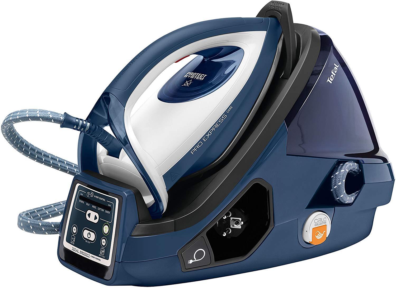 Tefal GV9071 Pro Express Care High Pressure Steam Generator, 2400 W, Black/Blue - £139.99 @ Amazon