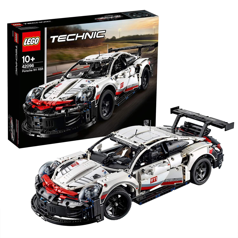 LEGO 42096 Technic Porsche 911 RSR Race Car Advanced Building Set, Exclusive Collectible Model - £87.99 @ Amazon