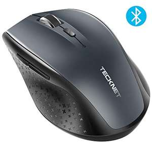 TeckNet Bluetooth Mouse, 2600DPI Adjustable - £7.99 + £4.49 NP Sold by BLUETREE and Fulfilled by Amazon.