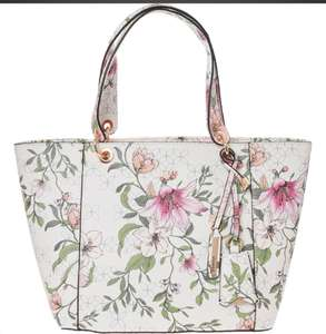 GUESS White Floral Tote Bag £39.99 +£1.99 click and collect @ Tk Maxx
