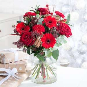 35% off Christmas Bouquets with Code @ Blossoming Gifts