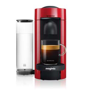 Nespresso 11389 Vertuo Plus Special Edition, by Magimix, Coffee Capsule Machine, ABS, 1260 W, Red £75 at Amazon