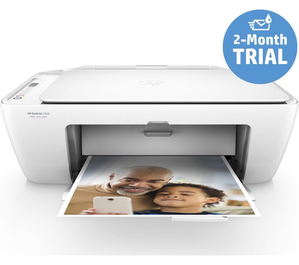 HP DeskJet 2620 All-in-One Wireless Inkjet Printer - £24.99 @ Currys PC World