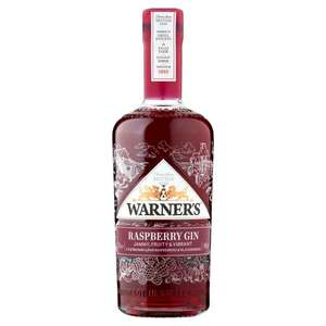 Warner's Raspberry Gin £28 at Tesco, in-store and on-line