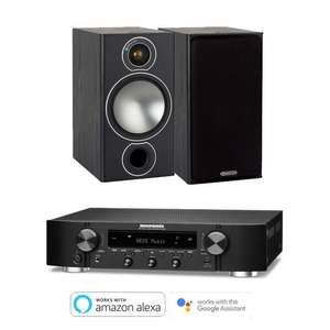 Marantz NR1200 Slim Amplifier Receiver with Amazon Alexa & HEOS with 2 x Monitor Audio Bronze 2 Speakers for £679 delivered @ Electricshop