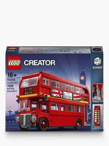 LEGO Creator 10258 London Bus - £87.99 delivered @ John Lewis & Partners