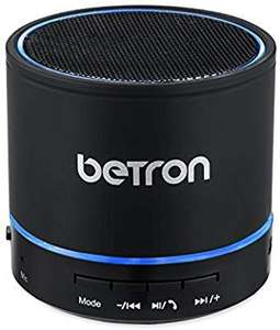 Amazon lightening deal Betron KBS08 Wireless Portable Travel Bluetooth Speaker £8.49 (Prime or + £4.49 NP) @ Sold by Betron Limited and FBA