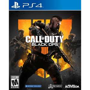 Call of Duty: Black Ops 4 (Exclusive to Amazon.co.uk) (PS4) - £11.99 (Prime) £14.98 (Non Prime)