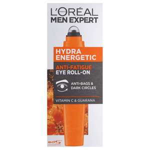 L'Oreal Men Expert Hydra Energetic Eye Roll-On 10ml - £4.81 Prime / +£4.49 non Prime @ Amazon
