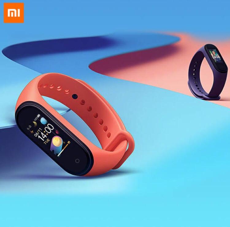 Xiaomi Mi Band 4 for £16.49 with new user coupon @ Aliexpress / Xiaomi MC store