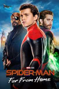 Spider-Man: Far from Home (Apple TV 4K HDR rental) - £2.99 - iTunes