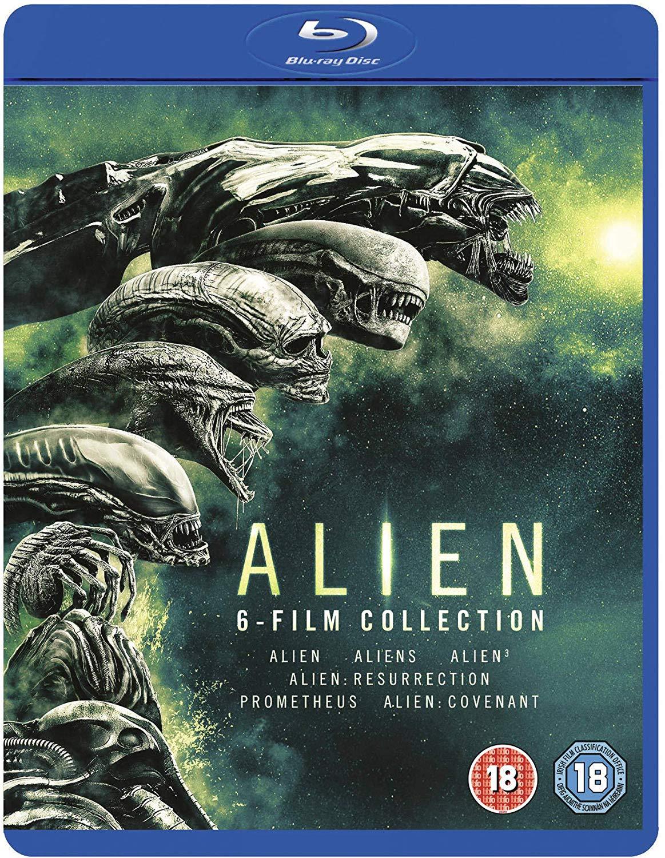 Alien: 6-Film Collection BLU RAY BOX SET £12.79 @ Amazon (+£2.99 NON PRIME)