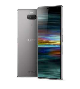 Sony Xperia 10 Plus 6.5 Inch 21:9 Full HD+ display Android 9 UK SIM-Free Smartphone - Silver £239 @ Amazon