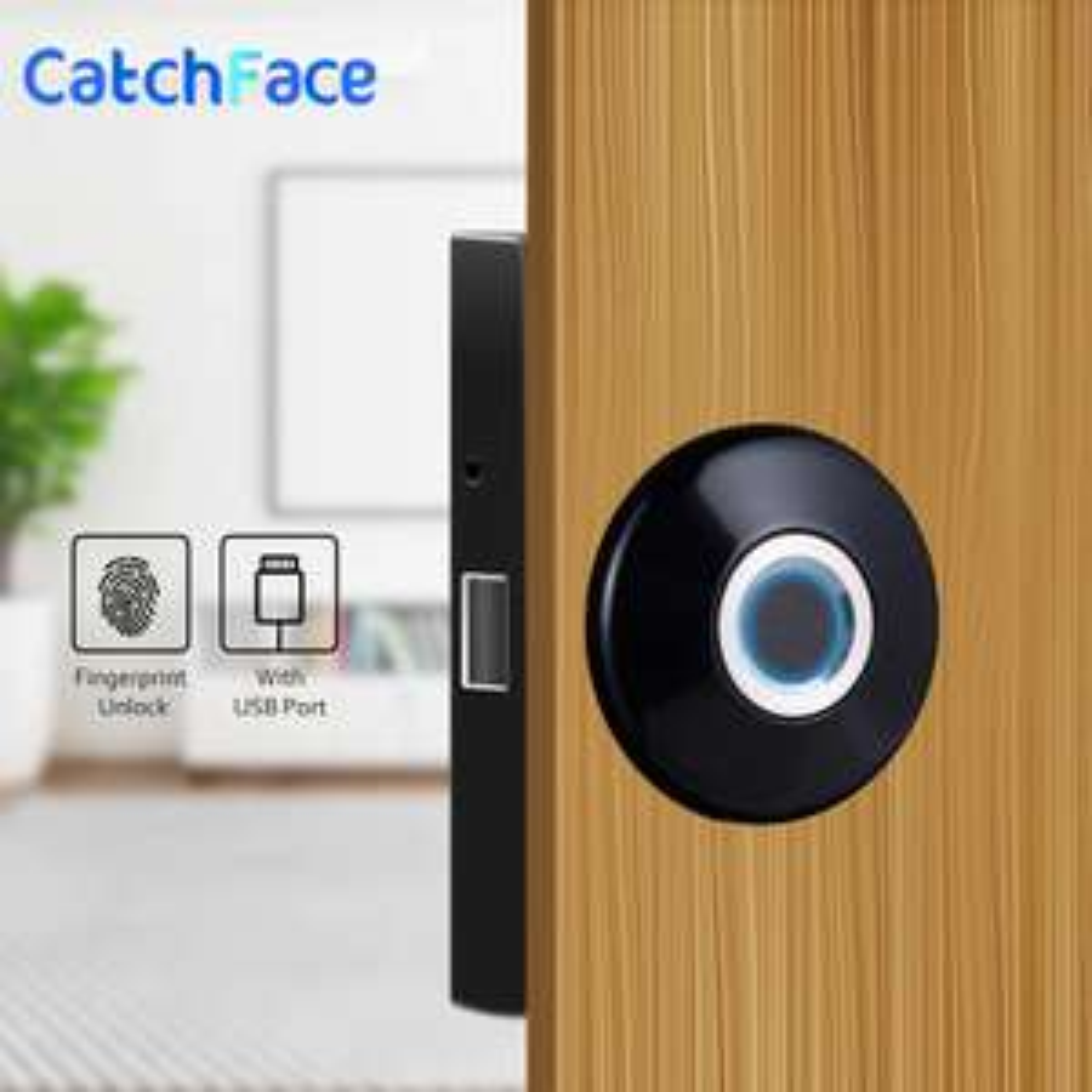 CatchFace Smart Lock with fingerprint sensor for £30.45 (£24.08 on Black Friday) delivered @ AliExpress / CatchFace Intelligent Store