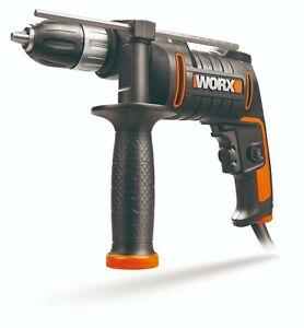 WORX WX317.2 600W 13mm Corded Hammer Impact Drill - £24.99 at Worx/ebay