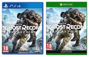 Tom Clancy's Ghost Recon Breakpoint + The Sentinel Corp. Pack (PS4 / Xbox One) for £24.85 delivered @ ShopTo